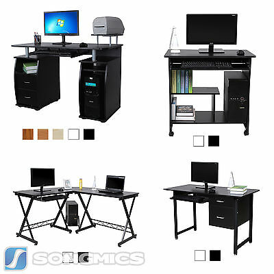 Computer Desk Home Office Study Workstation Computer Table Study Desk  PC Table