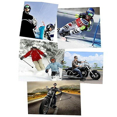 Snowboard Dustproof Sunglasses Motorcycle Ski Goggles Lens Frame Eye Glasses G#