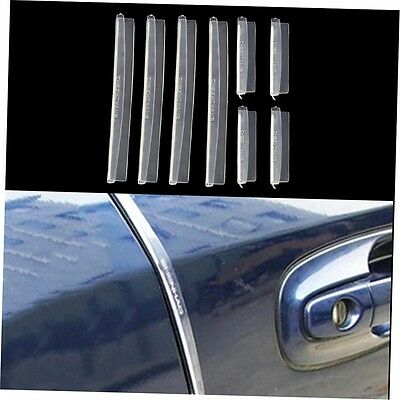 8x Car Door Edge Guards Protection Strip Scratch Protector Anti-rub NEW G#