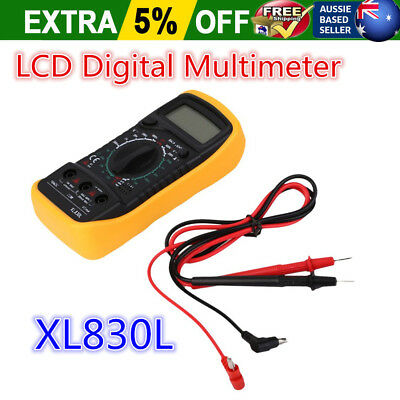 LCD Digital Multimeter, Back ground light, AC DC Voltmeter Ohmmeter Multi Tester