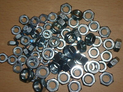 BSF NUTS STAINLESS STEEL - Assortment of 1/4  5/16 and 3/8