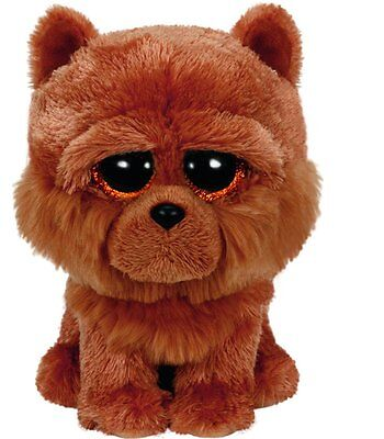 Barley The Chow Dog Ty Beanie Boos  Brand New
