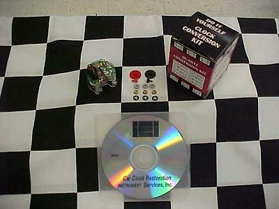Quartz Clock Repair Kit T-3025 with Instructional DVD