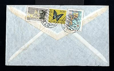 9419-MOÇAMBIQUE-AIRMAIL COVER NAMPULA to FUERTH (germany)1956.Portugal colonies.
