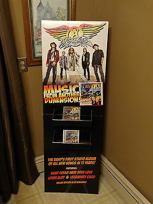 Aerosmith Stand Up Display Music From Another Dimension Joe Perry Steven Tyler