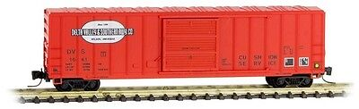 MTL #510 00 300  Z Scale Delta Valley & Southern 50' Rib Side Box Car Road #1041
