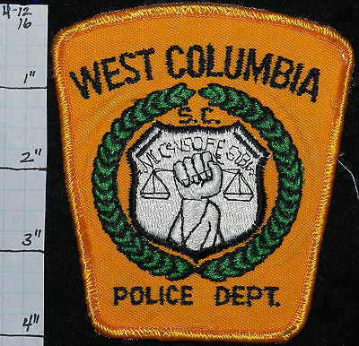 South Carolina, West Columbia Police Dept Patch