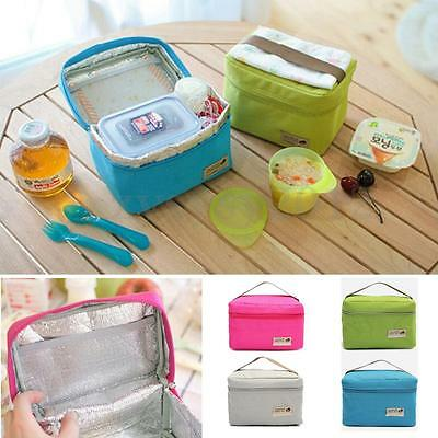 UK Picnic Bag Thermal Portable Insulated Cooler Travel Lunch Carry Tote Storage