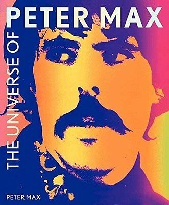 The Universe of Peter Max New Hardcover Book Peter Max