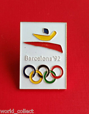 Official Olympic badge Barcelona 1992 Summer Olympics sport Games