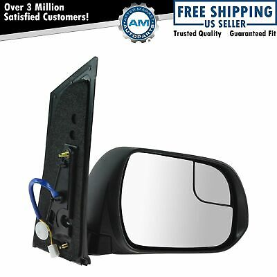 New Passengers Power Side Mirror Glass Housing Heated for 98-03 Toyota Sienna