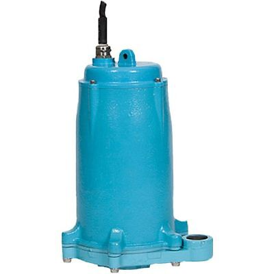 Little Giant GP-M231-15 - 2 HP Manual Grinder Pump w/ 15' Cord (208-230V 1