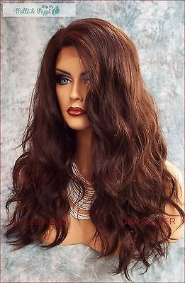 Lace Front Hand Tied Heat Friendly Exquisite Sensual Fs4.30 Wig Usa Seller *476
