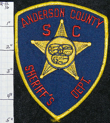South Carolina, Anderson County Sheriff's Dept Patch