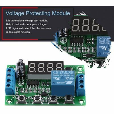 Voltage Control /Delay Switch /OverVoltage /Under Voltage Protection Module G#