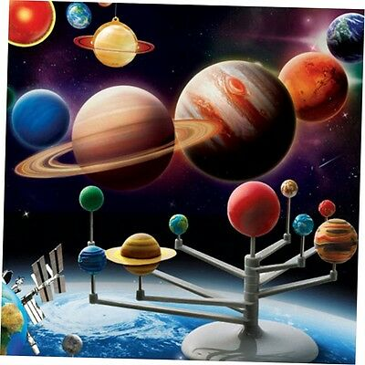 Solar System Planetarium Model Kit Astronomy Science Project DIY Kids Gift G#
