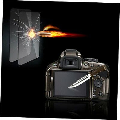 Tempered Glass Film Camera LCD Screen Protector Guard for Nikon D5100/5200 G#