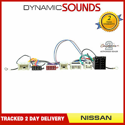 CT10NS03 Bluetooth Parrot SOT Lead T-Harness ISO Adaptor For NISSAN X-Trail