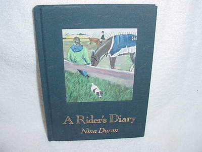 A Rider's Diary - Unused - For The Horse Person