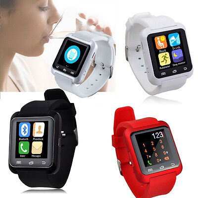Bluetooth 4,0 Smartwatch Podómetro Saludable Smart Reloj U80 para iPhone LG