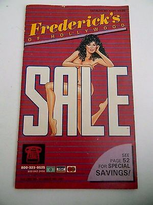 Frederick's of Hollywood Catalog- 1983 Vol 41 Issue 281-Vintage
