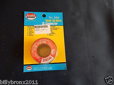 Model Power # 2302 2 Conductor Hook-up Wire (RED & BLACK)