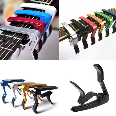 UK Quick Release Trigger Guitar Capo Clamp for Electric Acoustic Classic Guitar