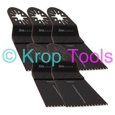 5 Oscillating Multi Tool Saw Blades Apollo Skil Workzone 65mm Precision by KROP