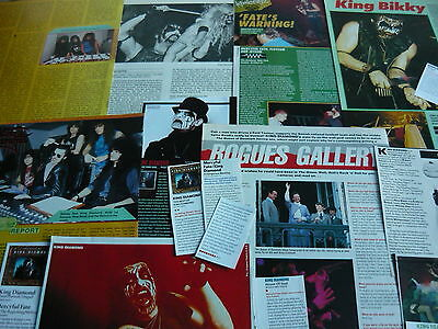 King Diamond/mercyful Fate - Cuttings Pack (Ref X6)