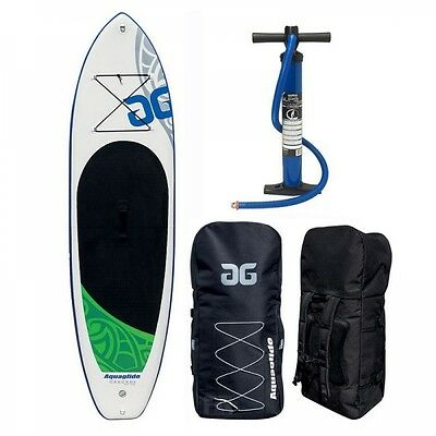 Aquaglide Cascade PRO Inflatable SUP Board 11 Set mit Pumpe und Packsack