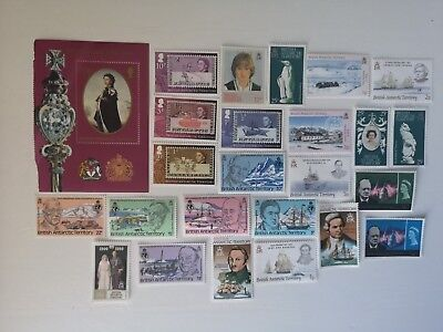 50 Different British Antarctic Territory Stamp Collection