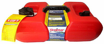 Scepter Marine Portable Fuel Tank - 3 Gal. - 10506