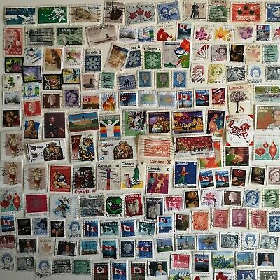 1500 Different Canada Stamp Collection