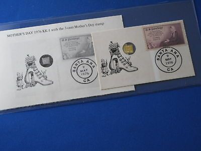 1976 Mother's Day Bit O' Gold Gulch 24kt FDC B5326