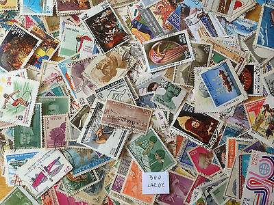 500 Different India Pictorials/Commemoratives Stamp Collection