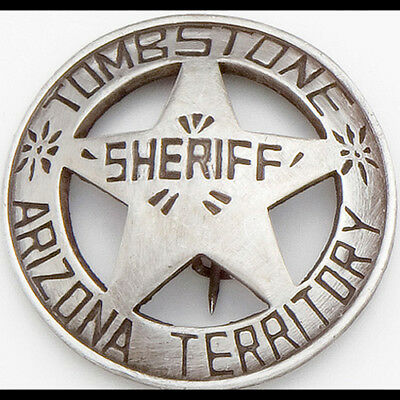 Deluxe Western Tombstone Badge