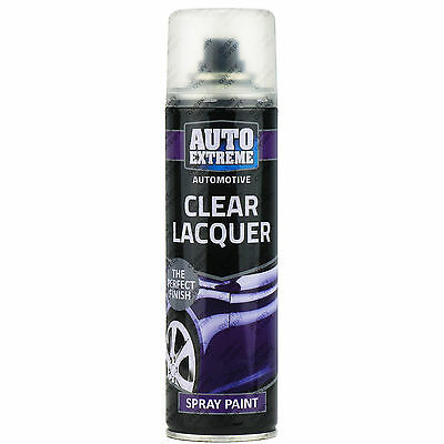 1 x Clear Lacquer Aerosol Spray Cans 250ml Car Auto Extreme Spray Paint