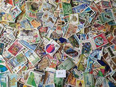 1000 Different New Zealand Stamp Collection Including $20 1994 Mt Cook