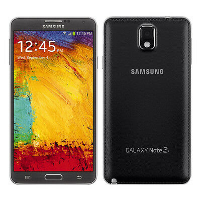 New Samsung N900A Note 3 AT&T Unlocked 4G LTE GSM 32GB Android SmartPhone Blk