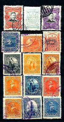 No: 44665 - SALVADOR - LOT OF 15 OLD STAMPS - USED!!