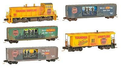 Micro-Trains MTL N Scale Halloween Zombie Train Set SW1500 Locomotive *NEW $0