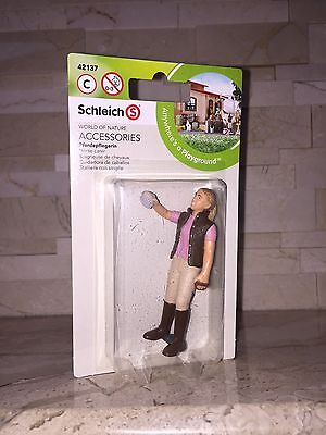 Schleich World Of Nature Horse Carer Figure 42137 New