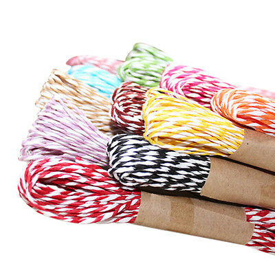 10M 2mm Divine Bakers Paper twine Wedding Party DIY Crafts Ribbon Packing Rope #