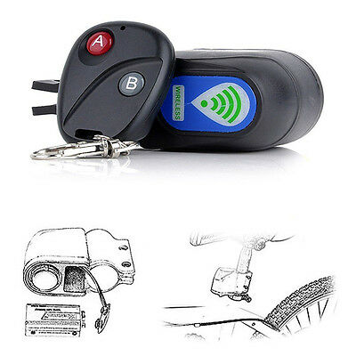 Security Bicycle Motorbike Cycling Bike Alarm Anti-theft Lock Loud Sound GH