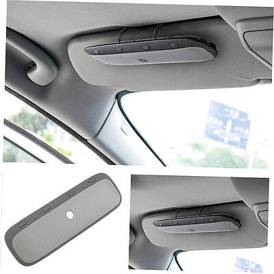 New Sun Visor Bluetooth Car Kit Speaker Handsfree Speakerphone Music Play G#