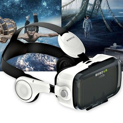 3D Virtual Reality VR BOX Glasses Helmet Headset For iPhone 6 Samsung S7 Edge