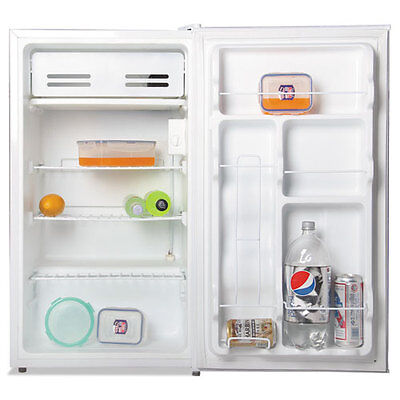 """""""3.3 Cu. Ft. Refrigerator With Chiller Compartment, White"""""""