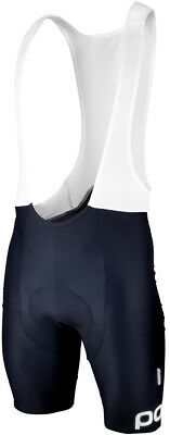 POC Multi D Bib Shorts Navy Black/Hydrogen White X-Large