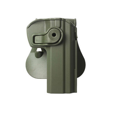 Imi Retention Holster Cz75 Z1330-Od Compact Green Right Handed Security