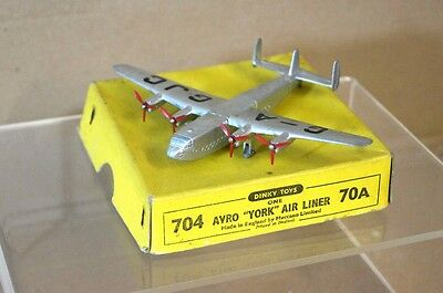 DINKY 704 70a AVRO YORK AIRLINER MINT BOXED mi